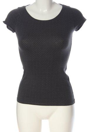 H&M Print-Shirt hellgrau Allover-Druck Casual-Look