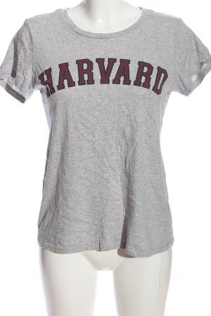 H&M Print-Shirt meliert Casual-Look