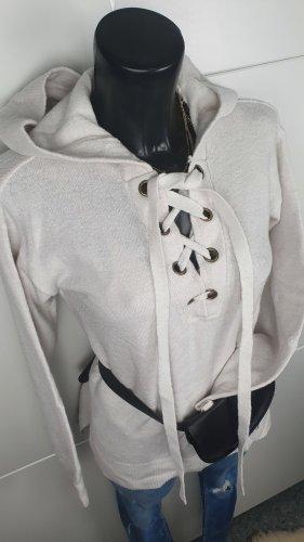 H&M L.O.G.G. Oversized Sweater white