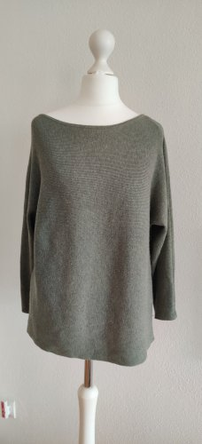H&M Pulli Pullover khaki grün XS