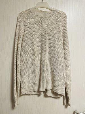 H&M Gehaakte trui wit-wolwit
