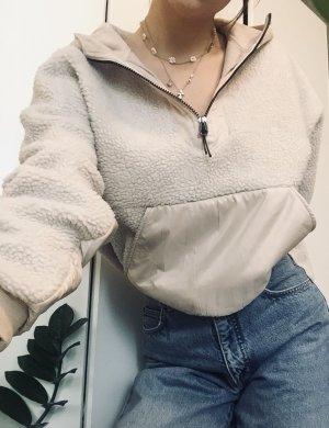 H&M Felpa con cappuccio bianco sporco-crema