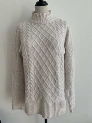 H&M Jersey de punto grueso blanco puro-crema