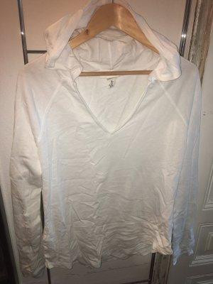 H&M Maglione con cappuccio bianco