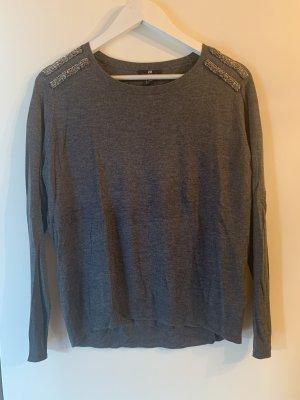H&M Sweter z okrągłym dekoltem Wielokolorowy