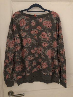 H&M Suéter gris-rosa