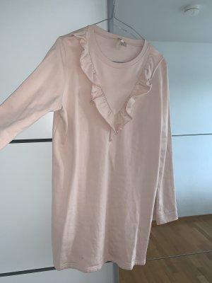 H&M Vestido tipo jersey rosa empolvado-rosa