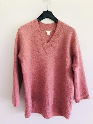 H&M Pullover, Langarm Pullover, pink, rosa, Gr M