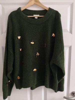 H&m pullover mit goldenen Details