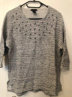H&M Pullover mit Nieten Gr. S