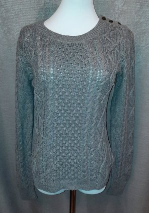 H&M Pullover mit Zopfmuster Gr.S 36