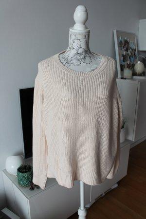 H&M Pullover nude Gr XL wie neu