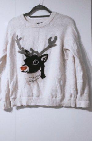 H&M pullover pulli wiehnachten winter christmas rudolf joodie sweatshirt