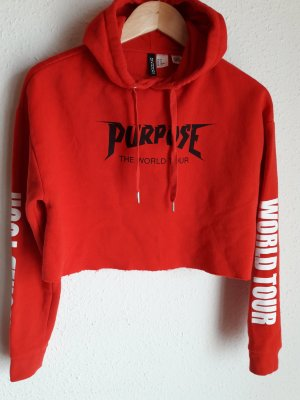 H&M. Pullover. rot