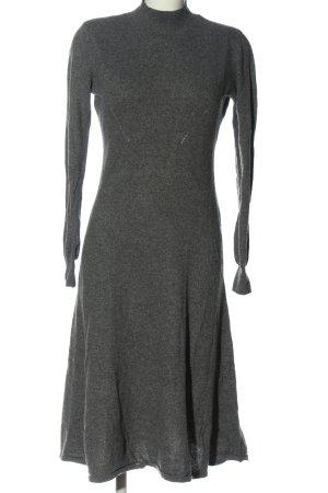 H&M Pulloverkleid hellgrau Casual-Look