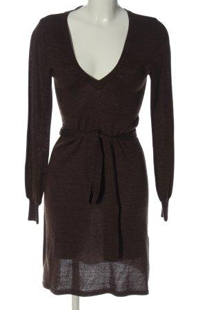 H&M Sweaterjurk bruin casual uitstraling