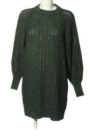H&M Pulloverkleid grün Casual-Look