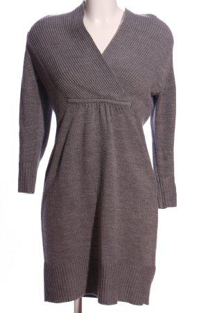 H&M Robe pull gris clair moucheté style décontracté