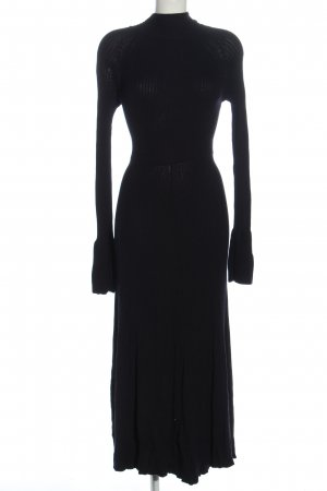 H&M Pulloverkleid schwarz Elegant