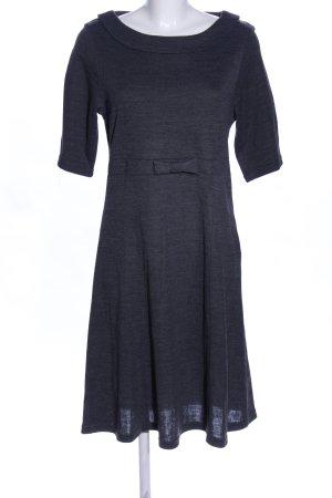 H&M Vestido tipo jersey gris claro moteado estilo «business»