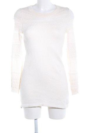 H&M Pulloverkleid wollweiß Casual-Look