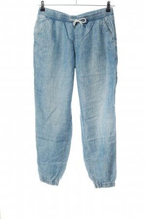 H&M Bloomers blue flecked casual look