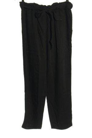 H&M Flodderbroek zwart casual uitstraling