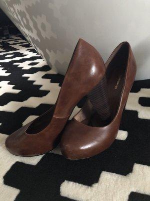 H&M Pumps cognacbraun Gr. 38 Schuhe