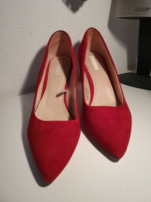 H&M Pumps Gr. 39 weinrot