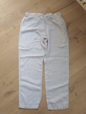 H&M Pyjamahose Homewear Pyjama PJ Leinen Leinehose