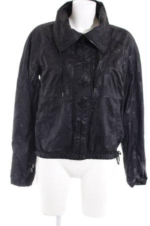H&M Regenjacke schwarz sportlicher Stil