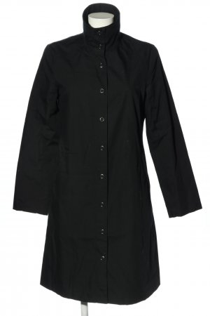 H&M Heavy Raincoat black casual look