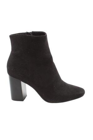 H&M Reißverschluss-Stiefeletten schwarz Casual-Look