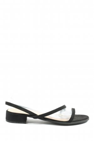 H&M Strapped Sandals black casual look