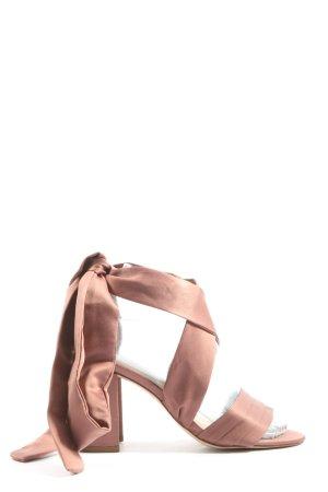 H&M Riemchenpumps pink Elegant