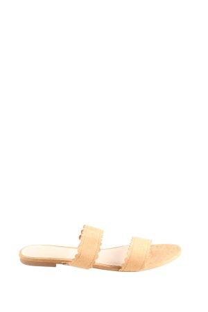H&M Riemchen-Sandalen wollweiß Casual-Look