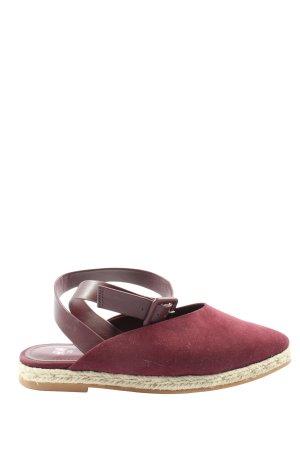 H&M Riemchen-Sandalen rot Casual-Look