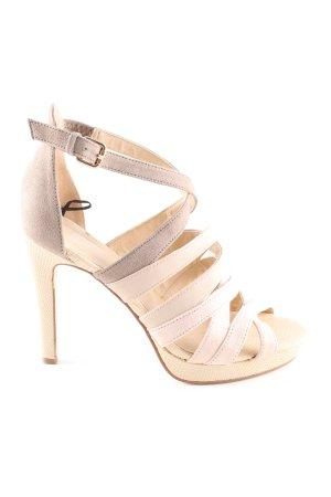 H&M Riemchen-Sandaletten creme Casual-Look