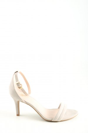 H&M Riemchen-Sandaletten pink Casual-Look