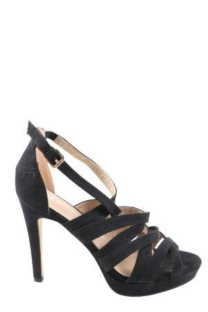H&M Riemchenpumps schwarz Elegant