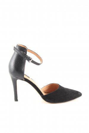 H&M Riemchenpumps schwarz Business-Look