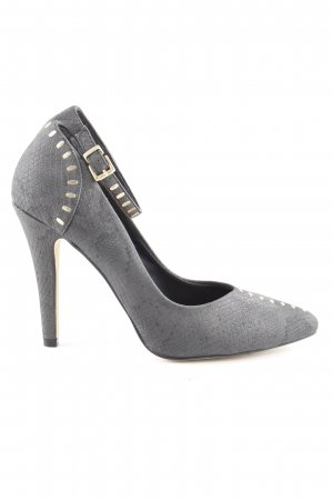 H&M Riemchenpumps taupe Business-Look