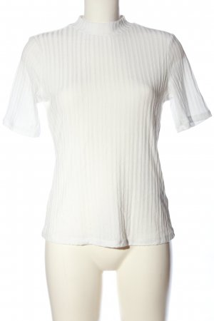 H&M Ringelshirt wollweiß Casual-Look