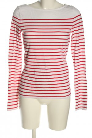 H&M Stripe Shirt white-red striped pattern casual look