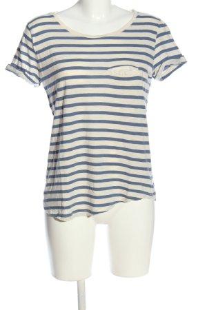 H&M Stripe Shirt white-blue allover print casual look