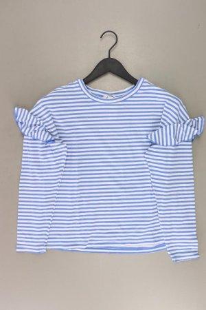 H&M Stripe Shirt natural white viscose