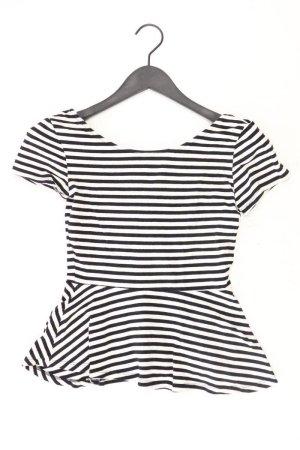 H&M Koszulka w paski czarny Bawełna