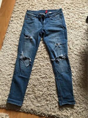 H&M Divided Skinny Jeans blue