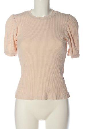 H&M Ribbed Shirt cream casual look