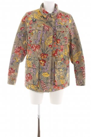 H&M Ripstop Jacket flower pattern casual look